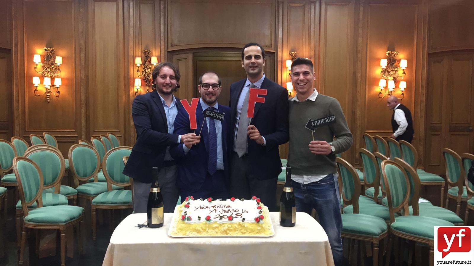 Simone Massaro, Jacopo Colella , Alessandro Cinque e Lorenzo Castaldi.