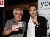 Jacopo Colella premia il Presidente del Centro Anziani di Ceprano