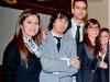Lo staff Yf da Sx Antonella Menna, Giovanni Curcio, Alessandro Cinque, Tania Vitale, Valeria Lizzio.
