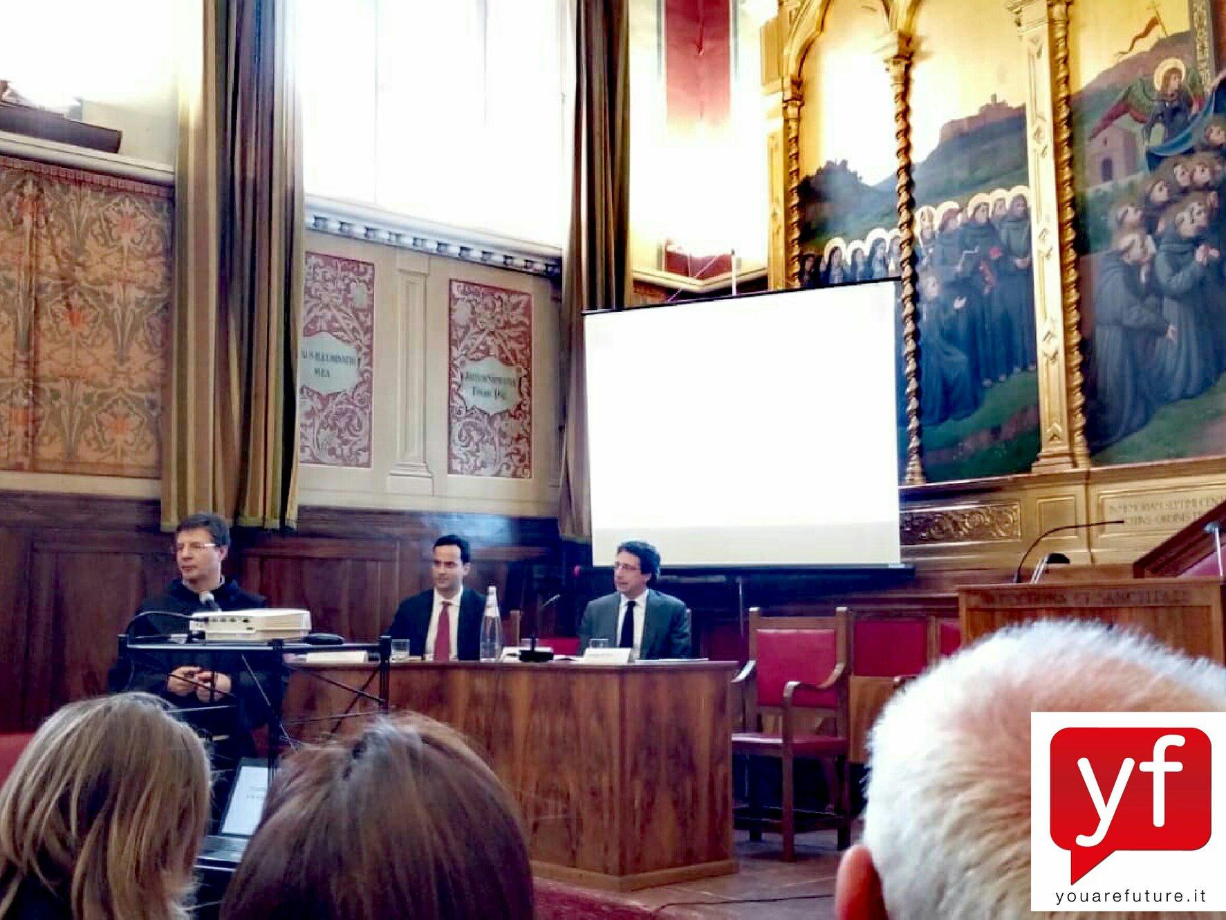 Il-saluto-e-lintervento-iniziale-di-Padre-Giuseppe-Buffon-Decano-della-Facoltà-di-Teologia-della-Pontificia-Università-Antonianum.