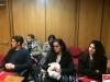 Alcuni studenti del Liceo Dante Alighieri