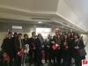 Gli studenti del Liceo Dante Alighieri in Corte D'Appello di Roma.