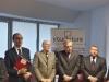 Da sx: Giovanni Cinque, Alberto Cozzella, Luciano Panzani e Fabio Massimo Gallo.
