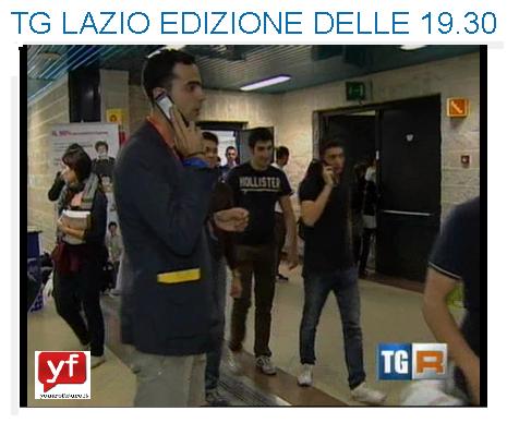 Passaggio Televisivo TG Lazio