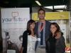 Il Coordinatore Generale YF Alessandro Cinque con alcuni studenti associati YF.