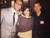 Tosca D'Aquino con Gianluca D\'Angelo e Nico Corrado.