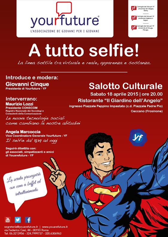 """13.04.2015: Secondo Salotto Culturale """"A tutto selfie ..."""